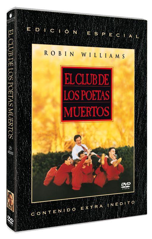 PELICULA  DIVISA HV  DVD  EL CLUB DE LOS POETAS MUERTOS  NUEVO (SIN ABRIR)