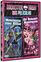 Monster high: Monstruitas sobre ruedas + Un romance monstruoso