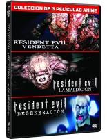 Pack Resident Evil Animación (3 Películas)