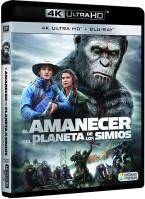 El amanecer del planeta de los simios (UHD)