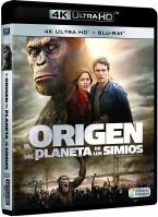El origen del planeta de los simios (UHD)