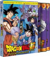 Dragon Ball Super Box 1 - La saga de la batalla de los Dioses