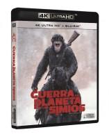 La guerra del planeta de los simios UHD