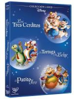 PACK FABULAS 3 cerditos + El patito feo + La liebre y la tortuga