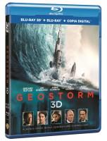 Geostorm blu-ray 3d + 2d