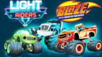 Blaze y los monster machine 8: Corredores luminosos