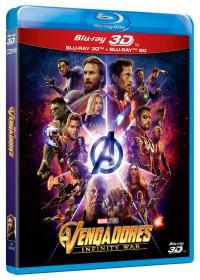 Vengadores: Infinity War BD3D