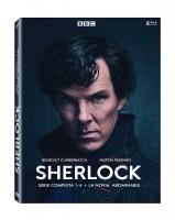 Sherlock 1-4 + La Novia Abominable - BD
