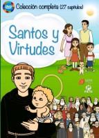 Pack Santos y virtudes  - DVD