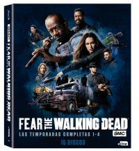 Pack Fear the walking dead (1ª - 4ª temporada) - BD