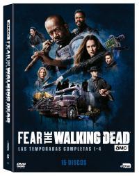 Pack Fear the walking dead (1ª - 4ª temporada) - DVD