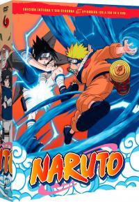 Naruto box 6 episodios  126 a 150 - DVD