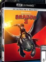 Como entrenar a tu dragón 2 (UHD + BD) - BD