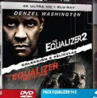 Pack The equalizer 1+2 (UHD + BD) - BD