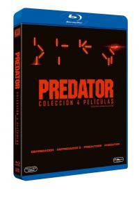Predator (Coleción 4 películas) - BD