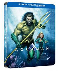 Aquaman  DC Illustrated Steelbook - BD