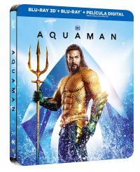 Aquaman  3D + 2D Steelbook - BD