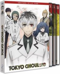 Tokyo Ghoul: re Episodios 1 a 12 (parte 1) - DVD