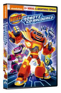Blaze y los Monster Machines 12: Robots Corredores - DVD