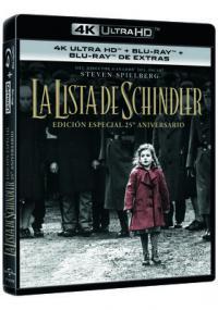 La lista de Schindler (UHD) - BD