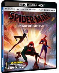 Spider-Man - Un nuevo universo (UHD) - BD