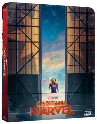 Capitana Marvel (Steelbook BD3D) - BD