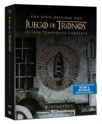 Juego de tronos (8ª temporada)  (Steelbook) - BD