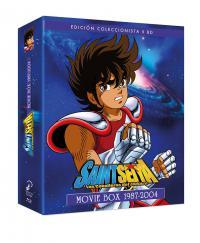 Saint Seiya. Los caballeros del zodiaco movie box 1987-2004 - BD