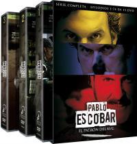 Pablo Escobar: Ell patrón del mal. Serie completa - DVD