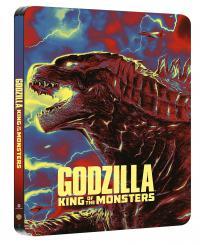 Godzilla: Rey de los monstruos 3D + 2D (Steelbook) - BD