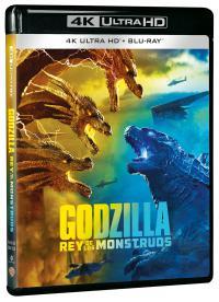 Godzilla: Rey de los monstruos UHD - BD