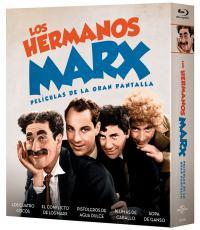 Hermanos marx (pack 5 peliculas) (bd)
