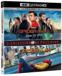 Pack spider-man: homecoming + lejos de casa (4k uhd + bd)