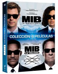 Men in black pack 1+2+3+international (dvd)