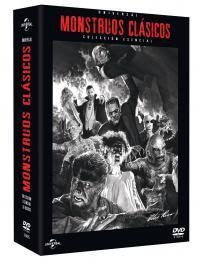 Monstruos clásicos universal pack (dvd)