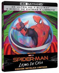 Spider-man: lejos de casa (4k + bd + bd extras + gallery book) (ed especial metal) - ed limitada hasta fin de existencias