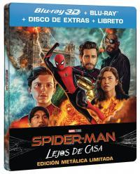 Spider-man: lejos de casa (bd 3d + bd + bd extras + gallery book) (ed especial metal) - ed limitada hasta fin de existencias