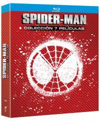 Spider-man pack (7 películas) (bd)