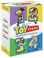 Pack Toy Story 1-4 - BD