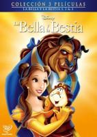 Pack trilogía La Bella y la Bestia - DVD
