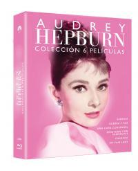 Pack Audrey Hepburn (6 discos) (blu-ray)