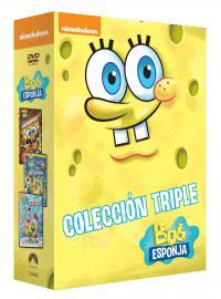 Triple pack: Bob Esponja (dvd) - ed limitada hasta fin de existencias