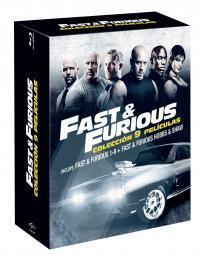 Pack Fast & Furious 1-8 + Hobbs & Shaw (blu-ray)
