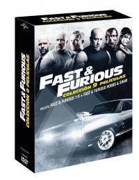 Pack Fast & Furious 1-8 + Hobbs & Shaw (dvd)