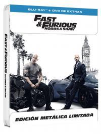 Fast & Furious: Hobbs & Shaw (blu-ray + blu-ray extras) (ed especial metal) - ed limitada hasta fin de existencias