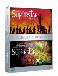 Jesucristo superstar (pelicula + musical) (dvd)