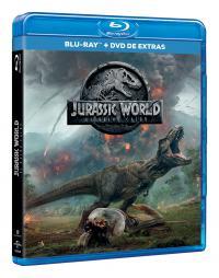 Jurassic World 2: El reino caido (blu-ray + dvd extras)