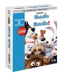 Pack Nascotas 1+2 (4k ultra hd + blu-ray)