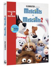 Pack Mascotas 1+2 (dvd)