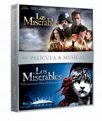 Los miserables (pelicula + musical) (blu-ray)